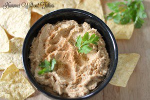 Simply the Best Spicy Hummus without Tahini