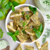 No-Oil Herb-Crusted Baked Tofu