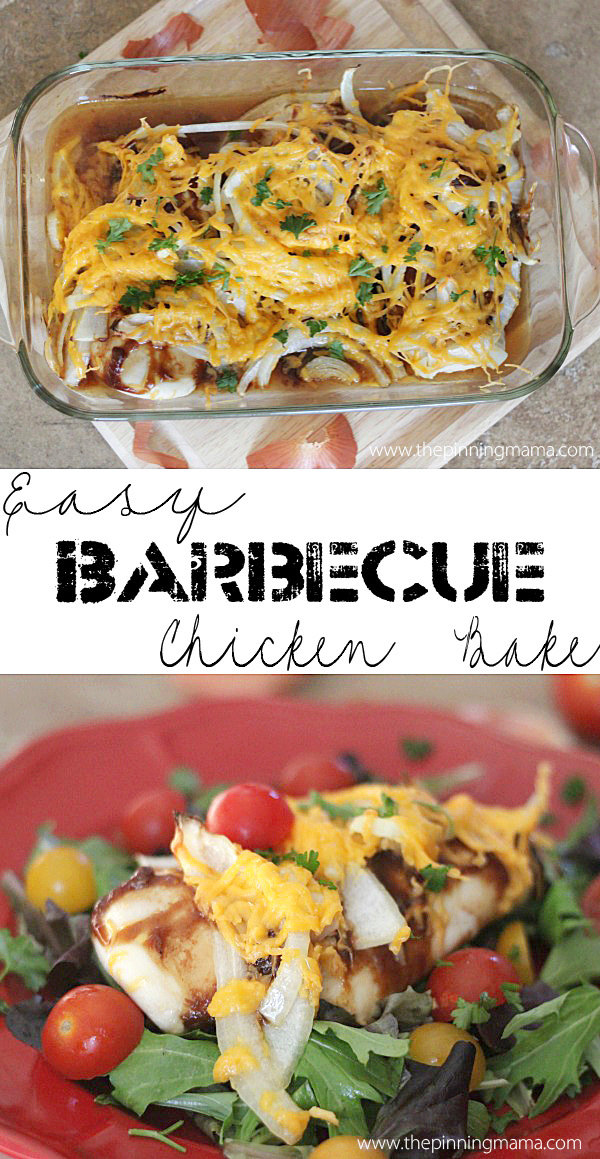 Easy Barbecue Chicken Bake
