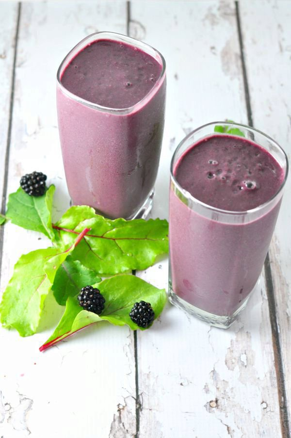50 Shades of Purple Green Smoothie