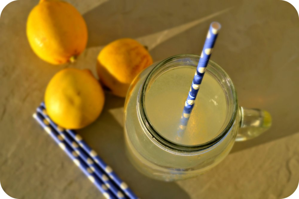 Morning Lemon Detox Water