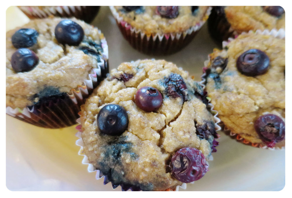 21 Day Fix Blueberry Muffins