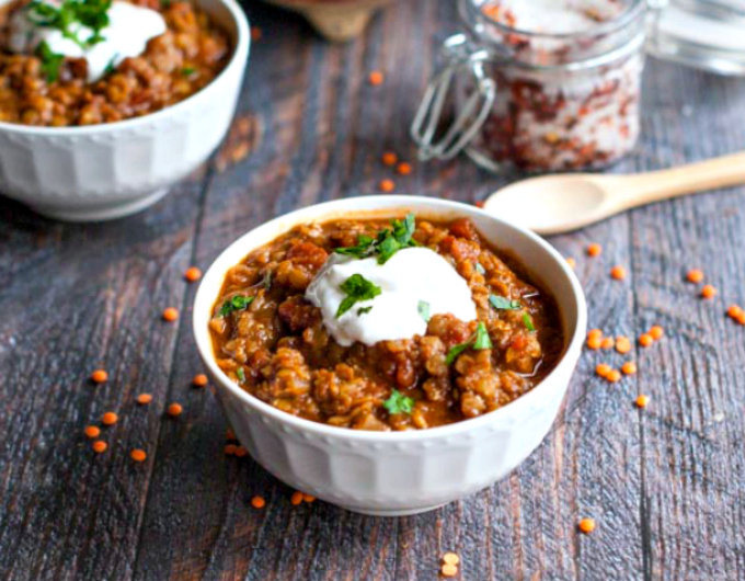 Mexican Spice Red Lentils