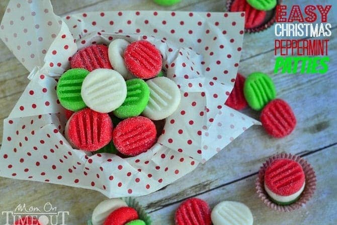 Easy Christmas Peppermint Patties
