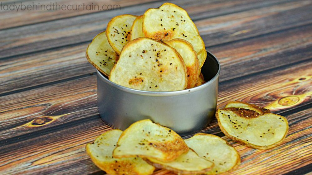 Simple Baked Potato Chips