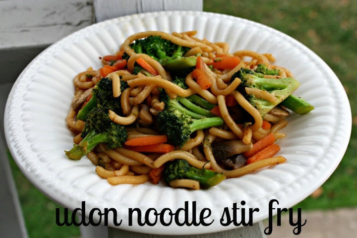 Stir Fry Vegetables and Shirataki noodles
