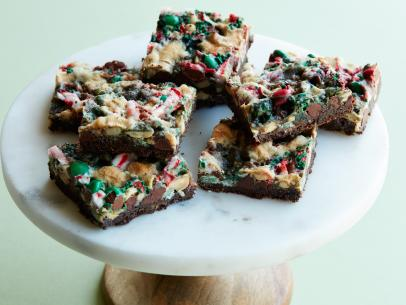 M&M Magic Bars