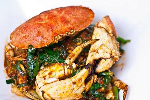Spicy Lemongrass Crab