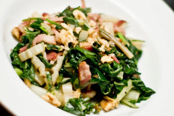 Bacon, ramps n nuts