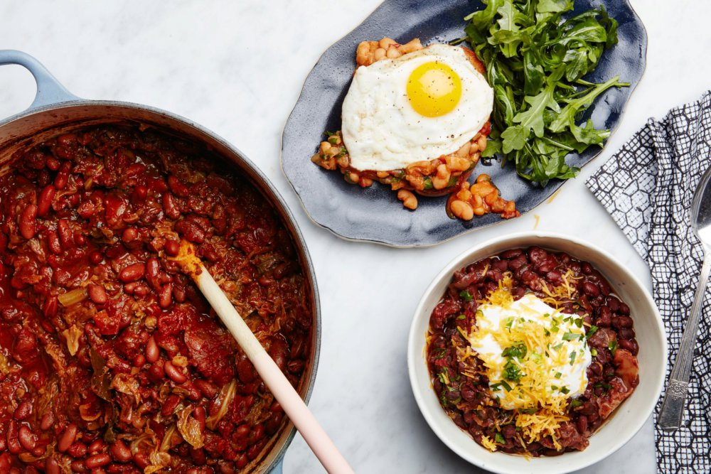 Very Versatile Baked Beans With Cabbage