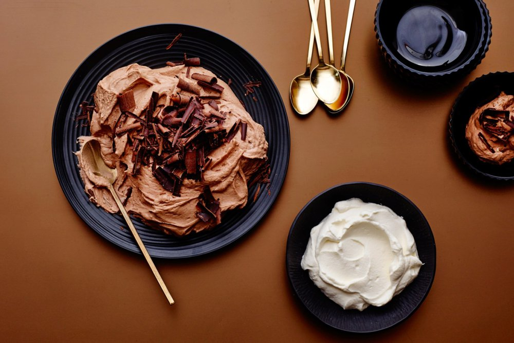 Chocolate-Chestnut Mousse