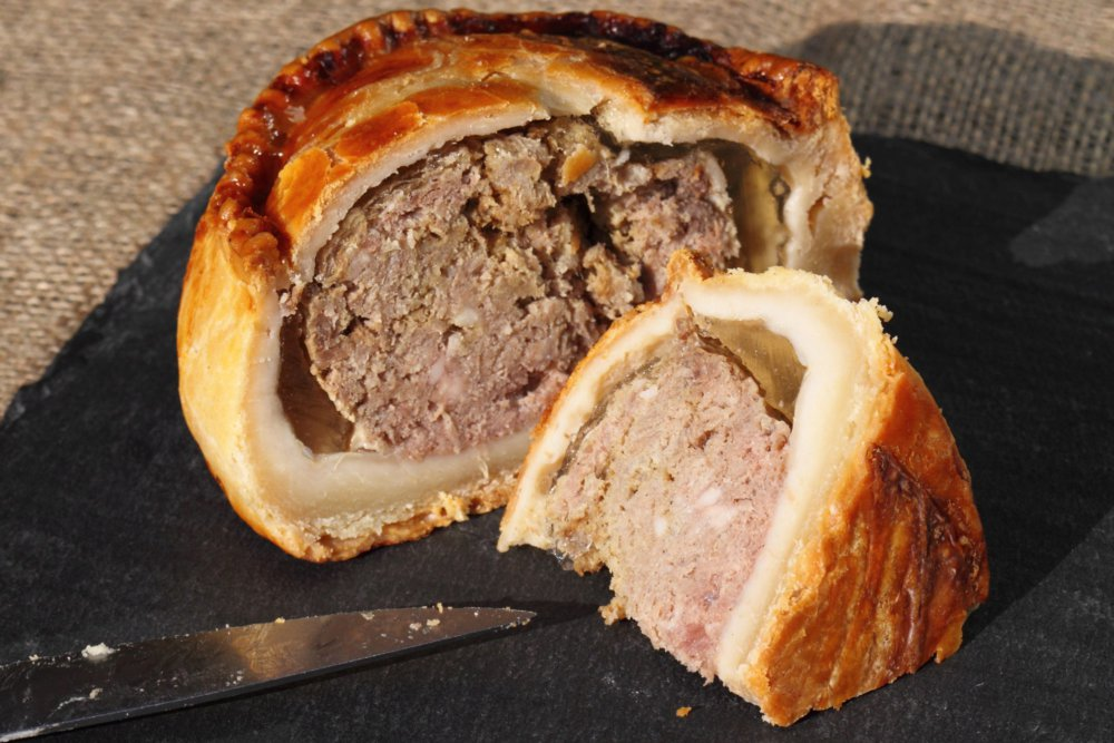 Smoked Pork in Pastry