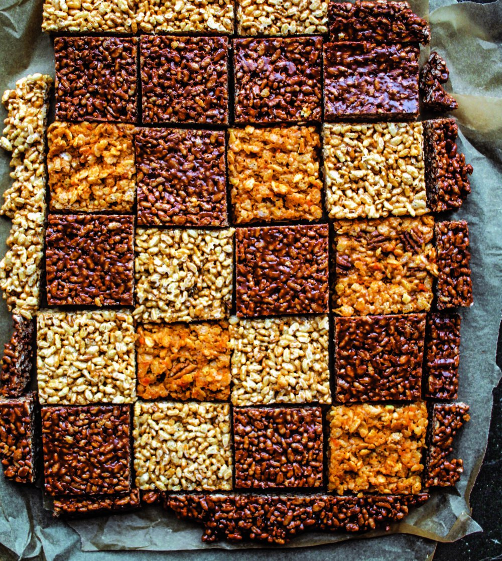 Sweet Potato Rice Crispies