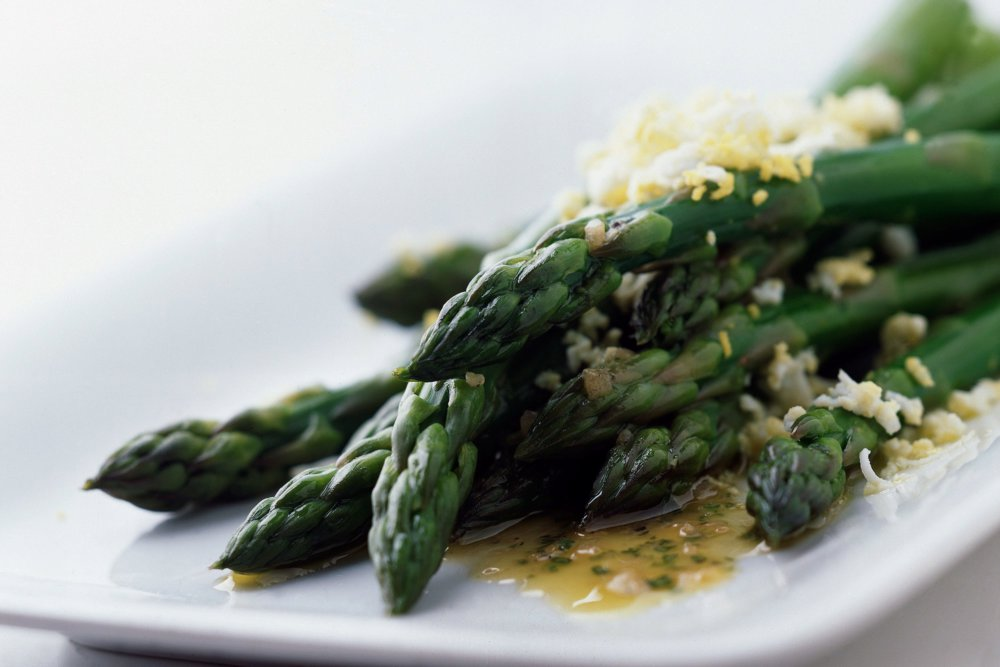 Asparagus with Tarragon Sherry Vinaigrette