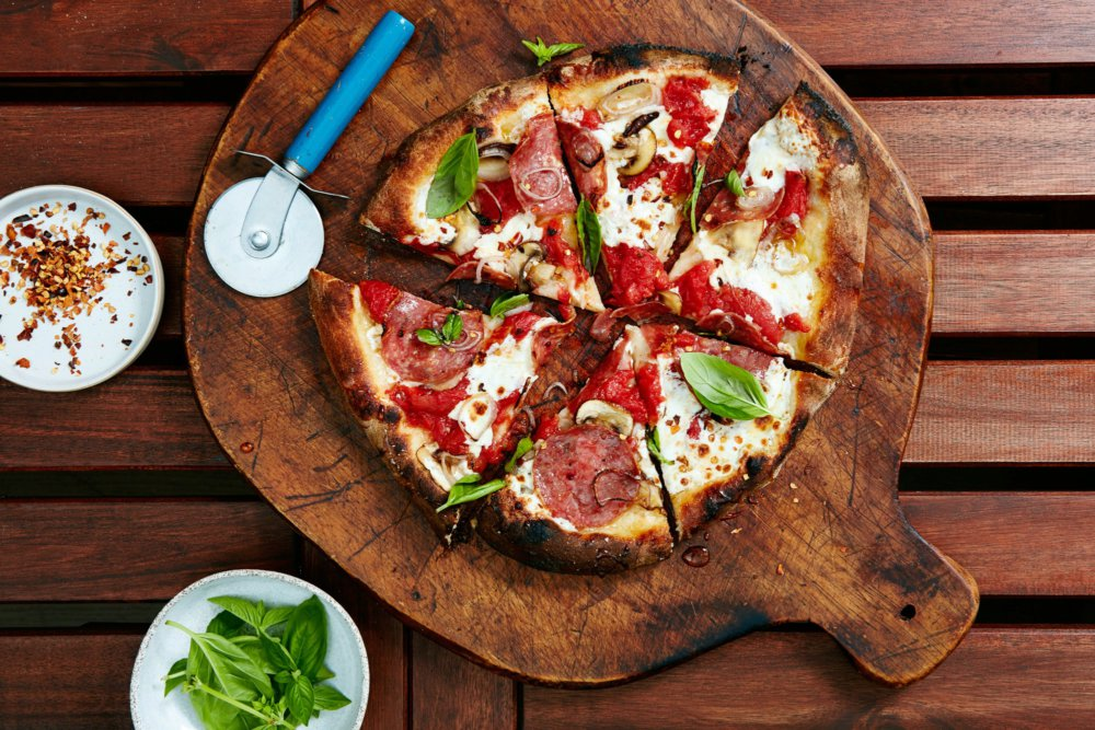 The Duckor Deluxe Wood-Fired Pizza