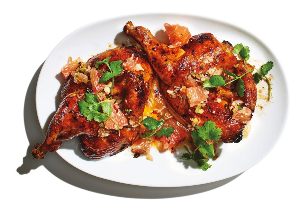 Soy-Sauce-and-Citrus-Marinated Chicken