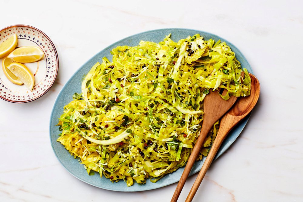 Cabbage Stir-Fry With Coconut and Lemon