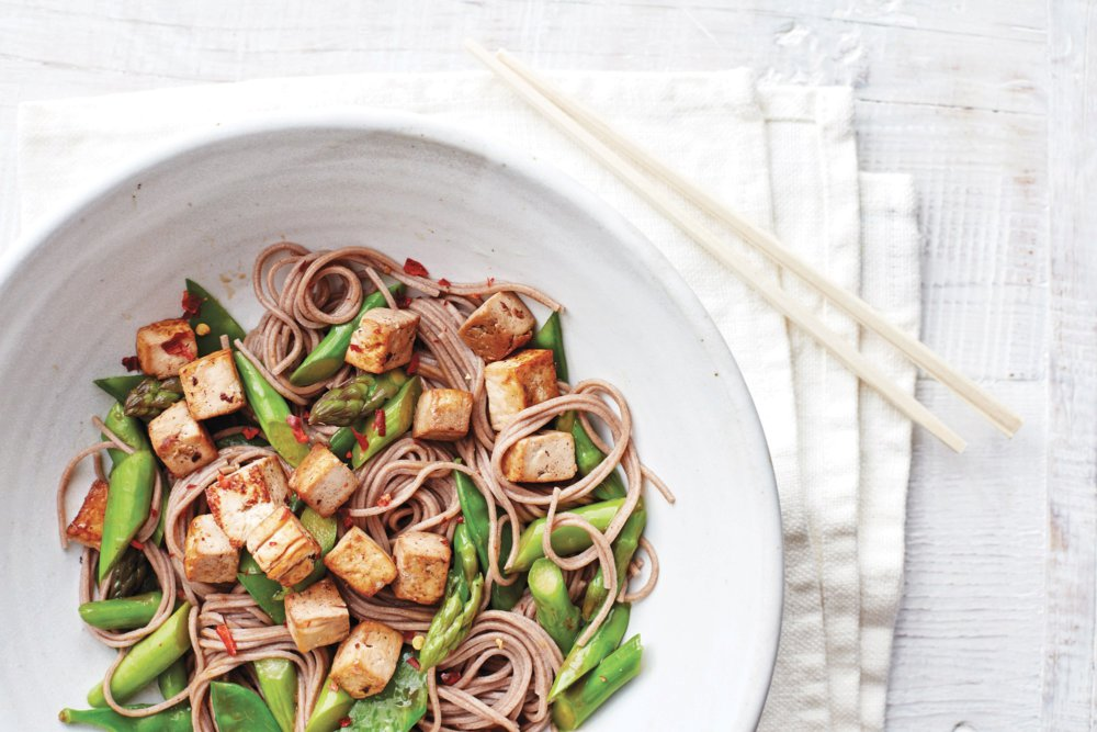 Asian Vegetable Noodle Toss