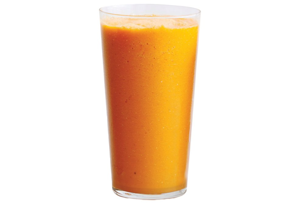 Tropical Carrot, Turmeric, and Ginger Smoothie