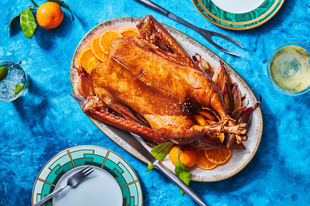 Roast Goose with Oranges and Madeira