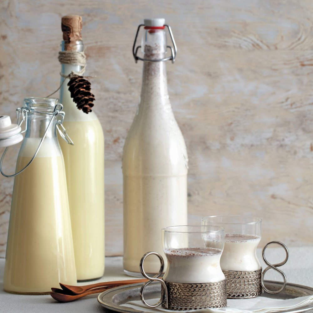 Rompope (Mexican Milk, Egg, Spice, and Liquor Punch)