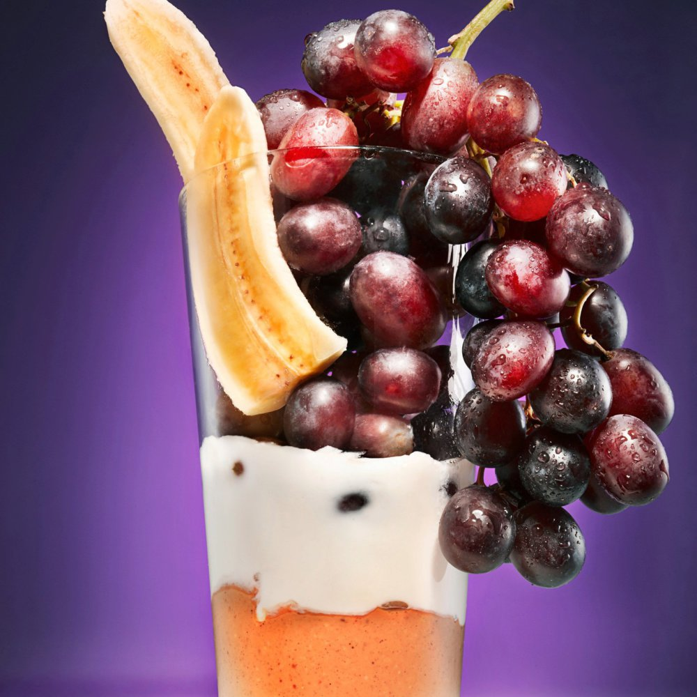 Peanut Butter and Grape Smoothie