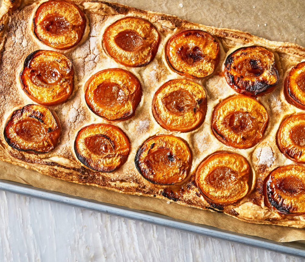 One-Hour Apricot and Almond Galette