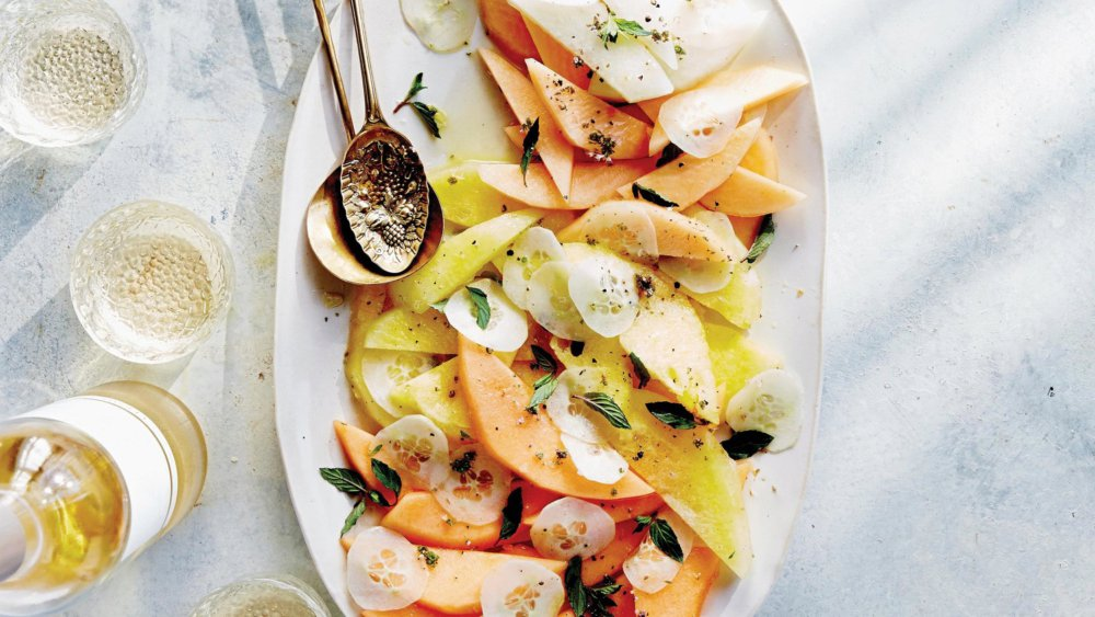 Melon and Cucumber Salad