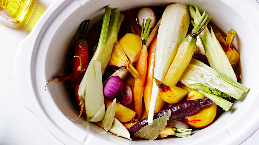 Slow-Cooker Root-Vegetable Confit