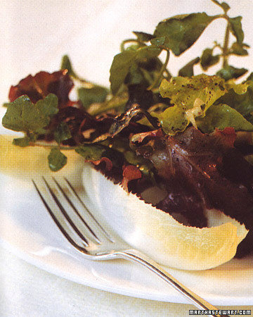 Autumn Greens with Cider Vinaigrette