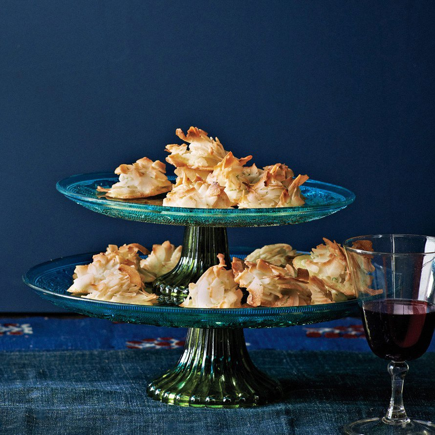 Lime-in-the-Coconut Macaroons