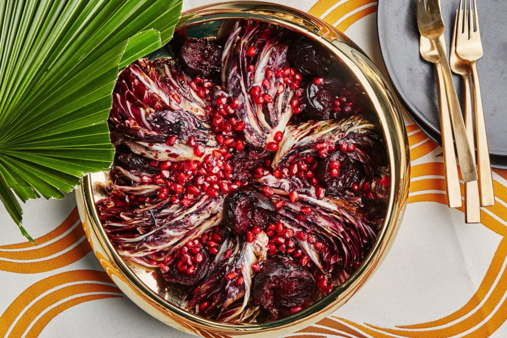 Seared Radicchio and Roasted Beets