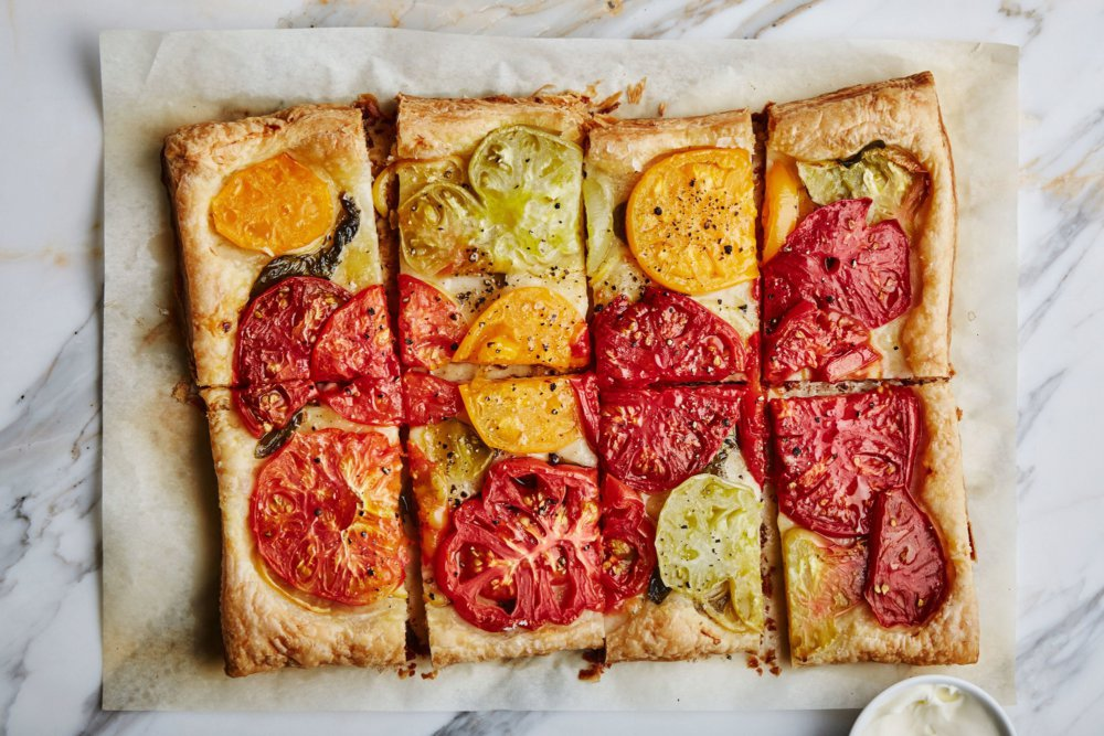 Tomato-Lemon Tart