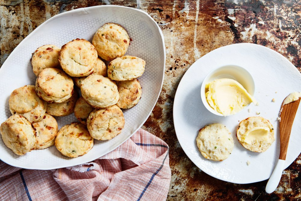 Baked-Potato Buttermilk Biscuits