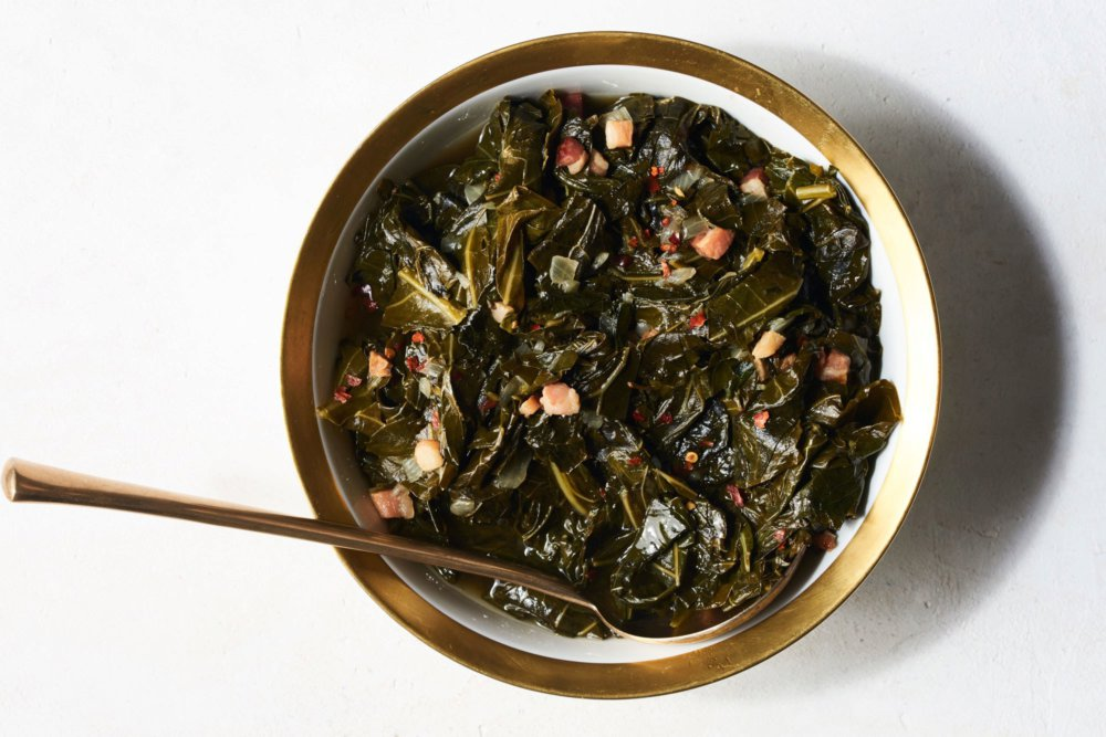 Sweet and Tangy Collard Greens