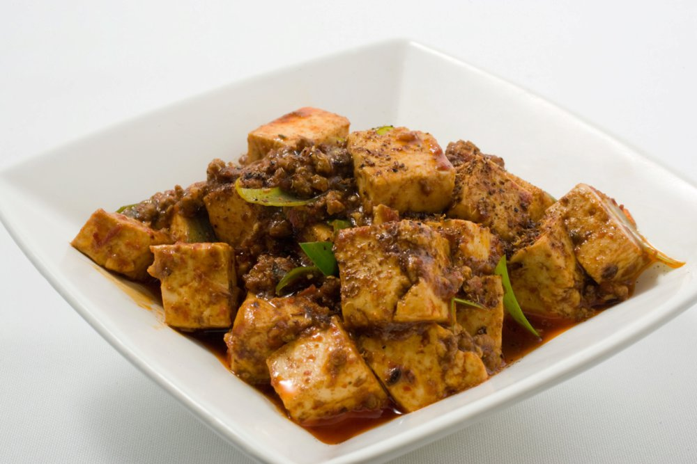 Ma–Po Tofu (Spicy Bean Curd with Beef)