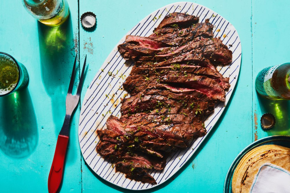 3-Ingredient Chipotle-Lime Grilled Steak