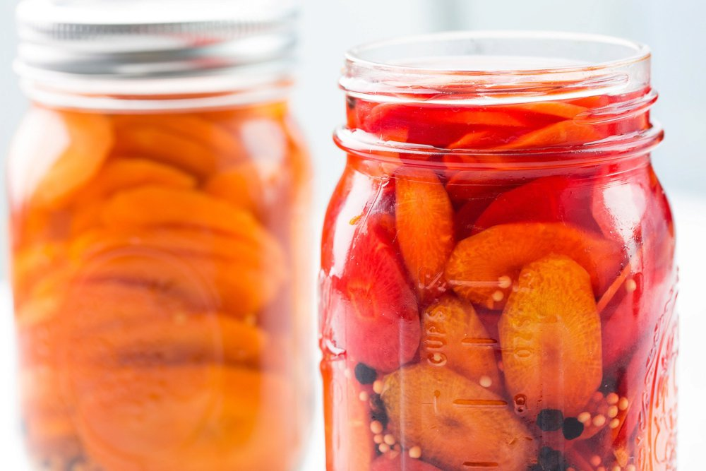 Quick-Pickled Carrots