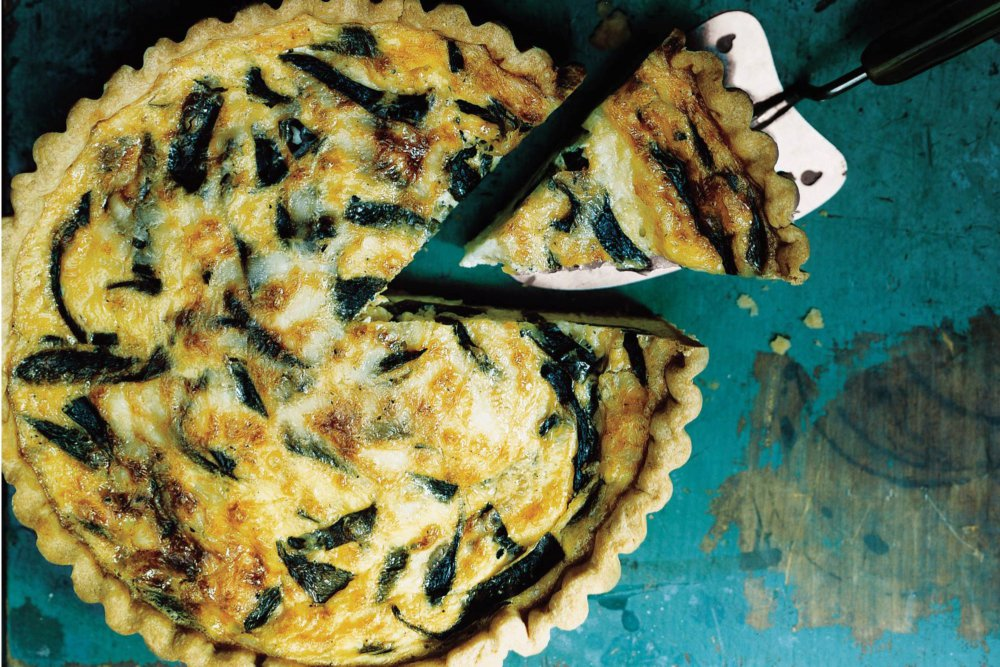 Cheese and Chile Quiche