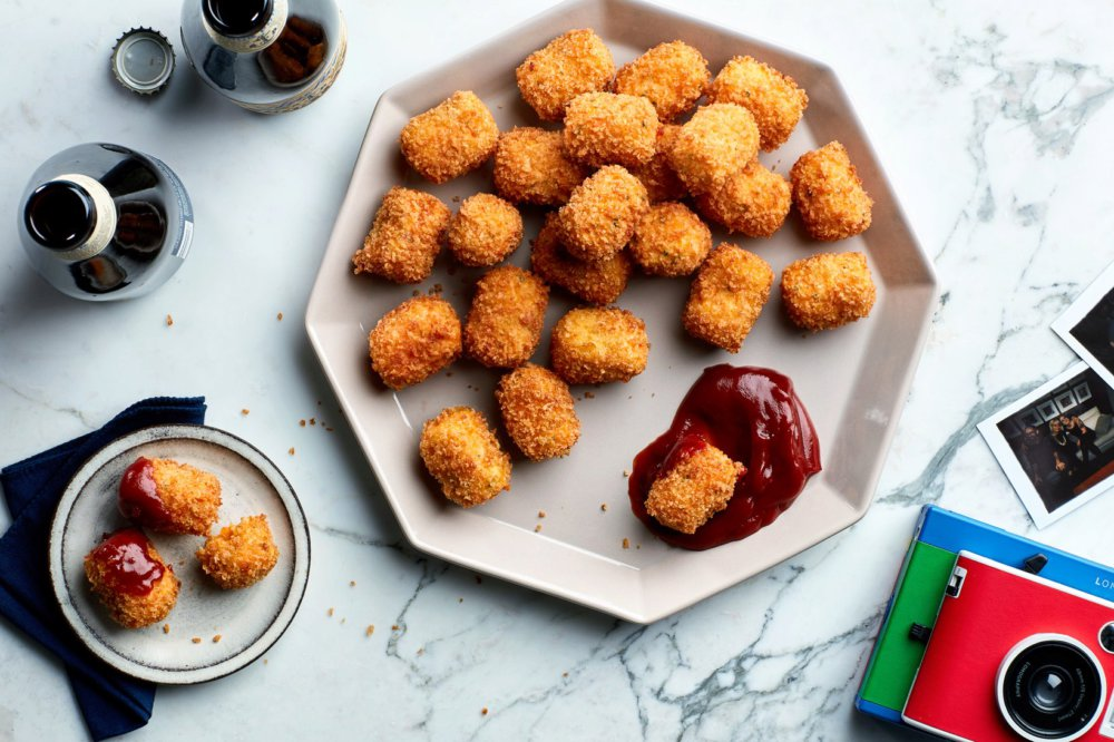 Cauliflower-Carrot Cheesy Tots