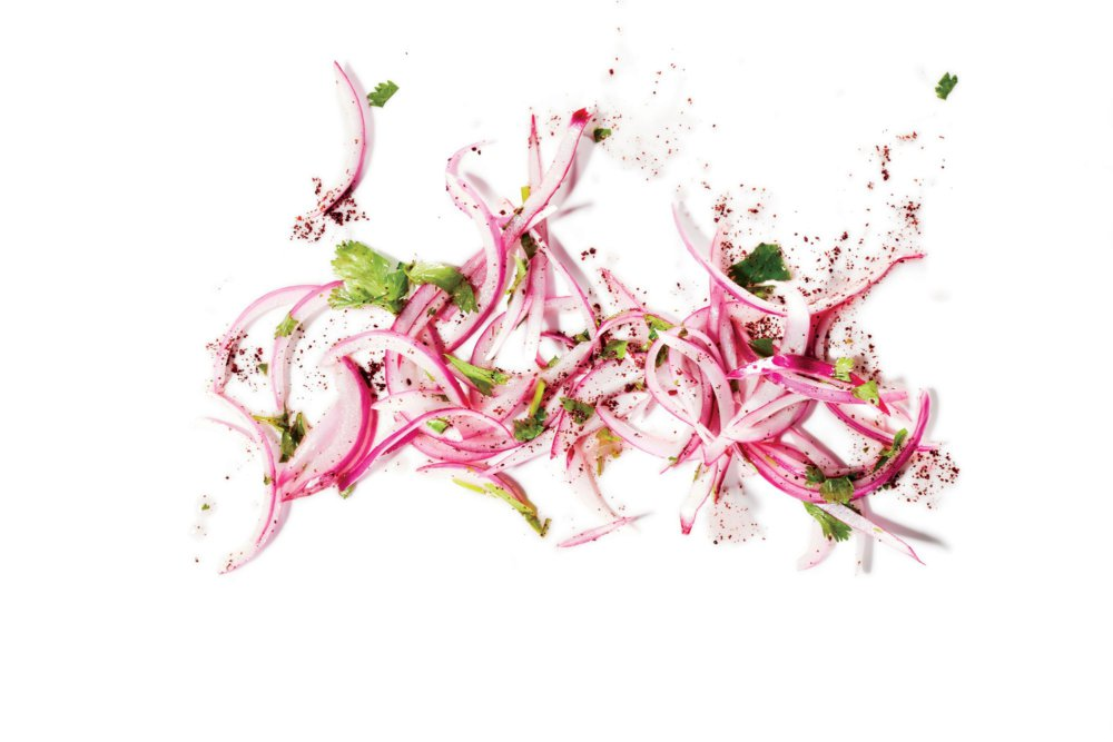 Lime-Pickled Red Onion