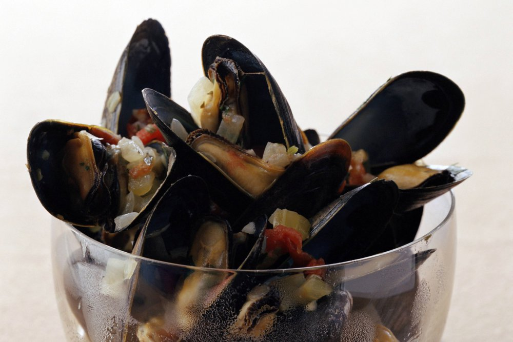 Mussels in Lager