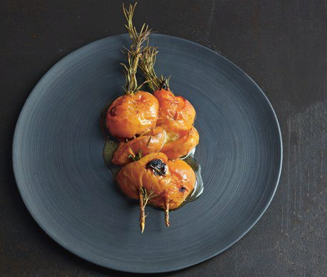 Apricot and Rosemary Skewers