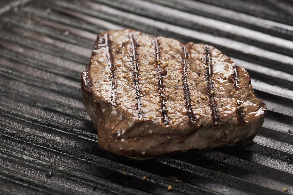 Pan-Grilled Steak