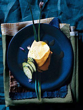 Sea Urchin Mousse with Ginger Vinaigrette