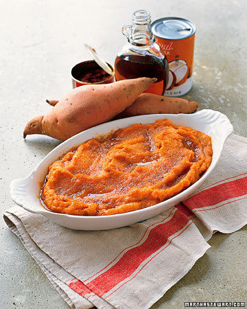 Mashed Red-Curry Sweet Potatoes