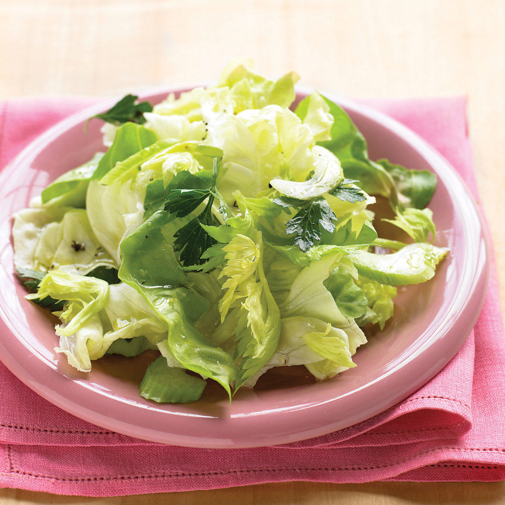 Bibb Salad with Celery and Parsley