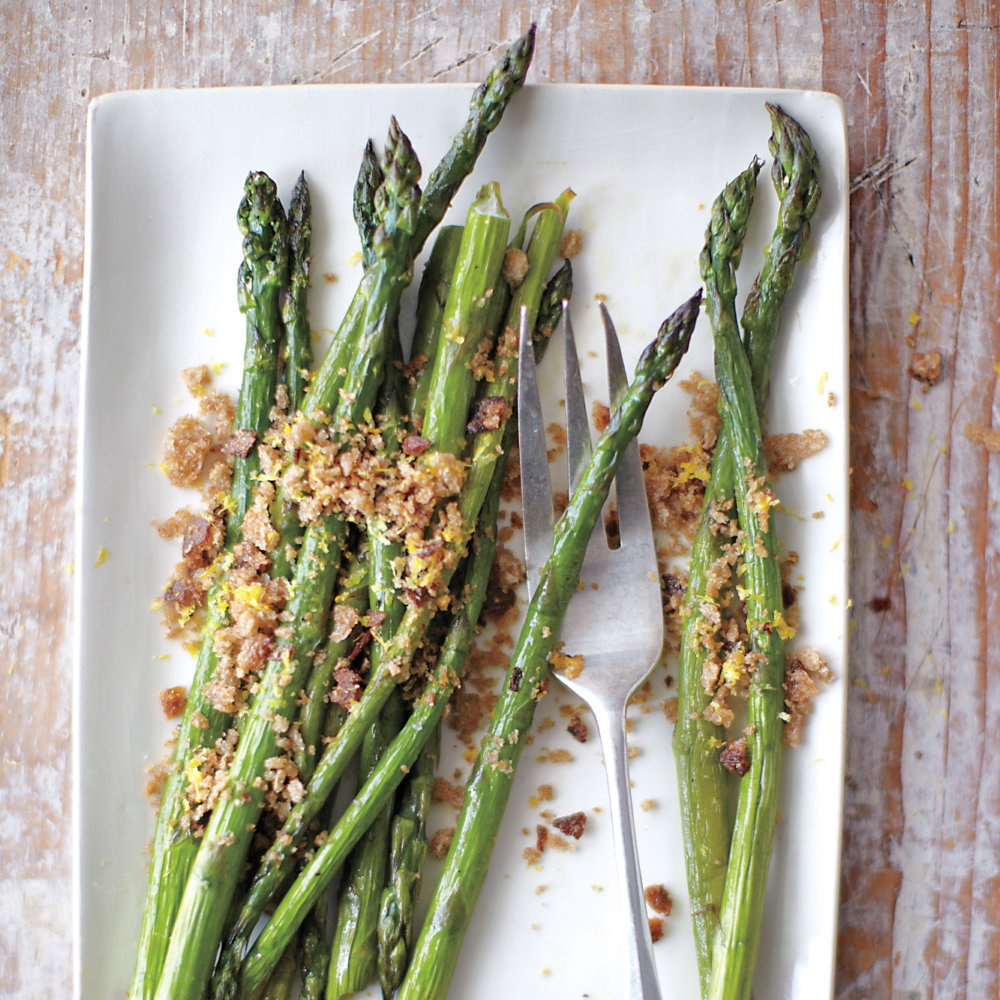 Asparagus with Breadcrumbs and Lemon Zest