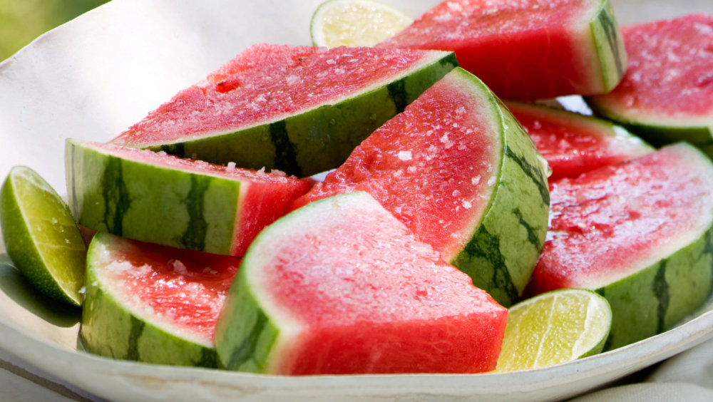Tequila-Soaked Watermelon Wedges
