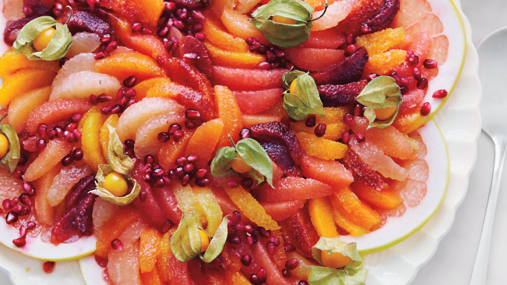 Citrus Salad with Pomegranate Seeds